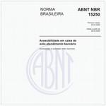 NBR15250 de 03/2005