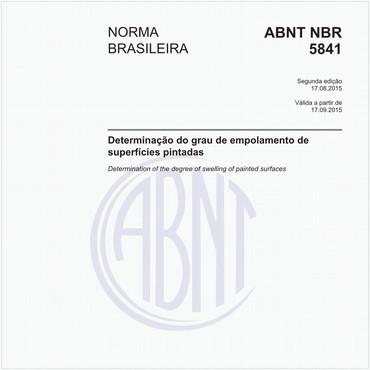 NBR5841 de 08/2015