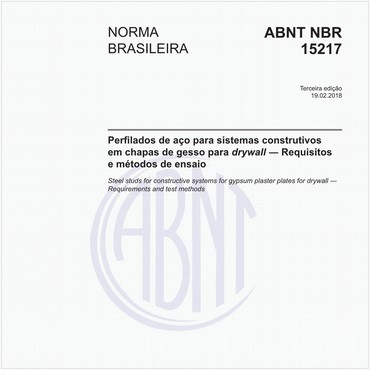NBR15217 de 02/2018