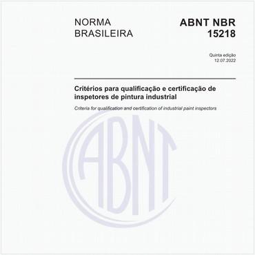 NBR15218 de 11/2018
