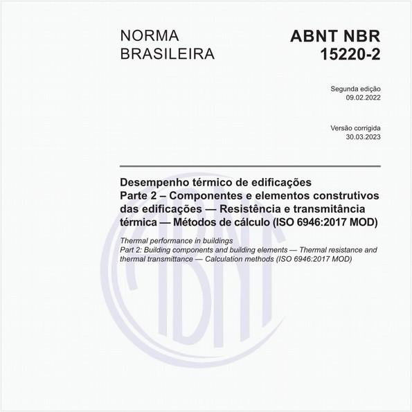 NBR15220-2 de 04/2005