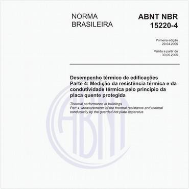 NBR15220-4 de 04/2005