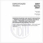 ABNT ISO/TS29001