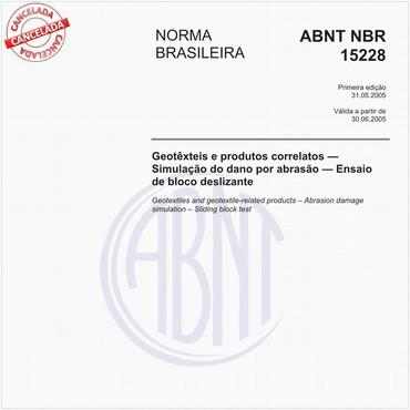 NBR15228 de 05/2005
