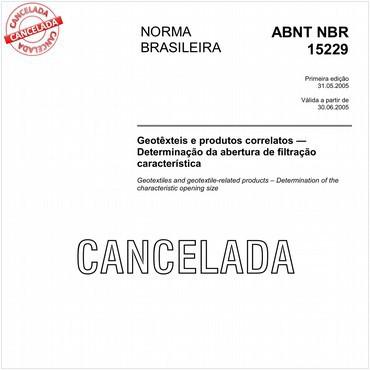 NBR15229 de 05/2005
