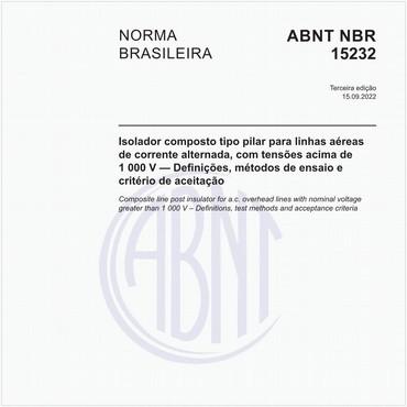 NBR15232 de 05/2013