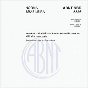 NBR5536 de 03/2011
