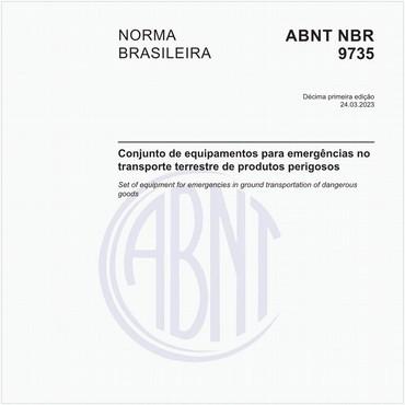 NBR9735 de 08/2017