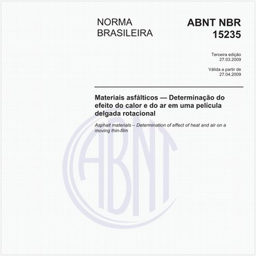NBR15235 de 03/2009