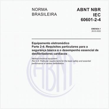NBRIEC60601-2-4 de 02/2014