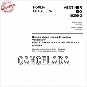NBRISO10209-2 de 07/2005