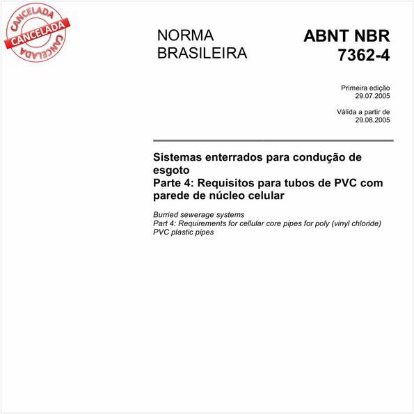 NBR7362-4 de 06/2017