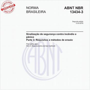 NBR13434-3 de 03/2018