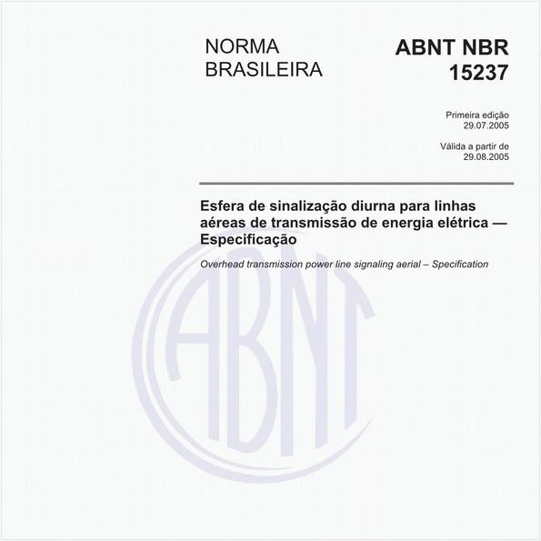 NBR15237 de 07/2005