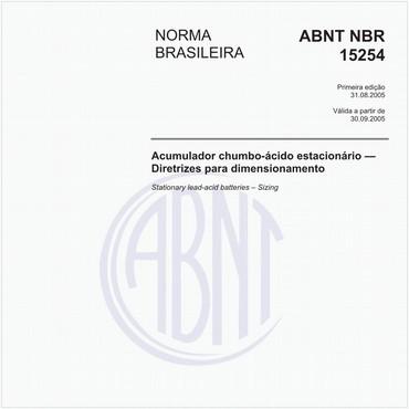 NBR15254 de 08/2005