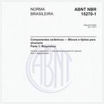NBR15270-1