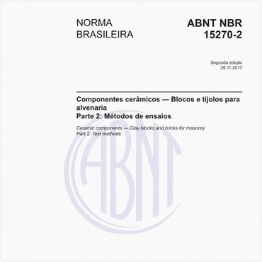 NBR15270-2 de 11/2017