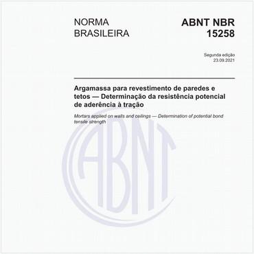 NBR15258 de 09/2005
