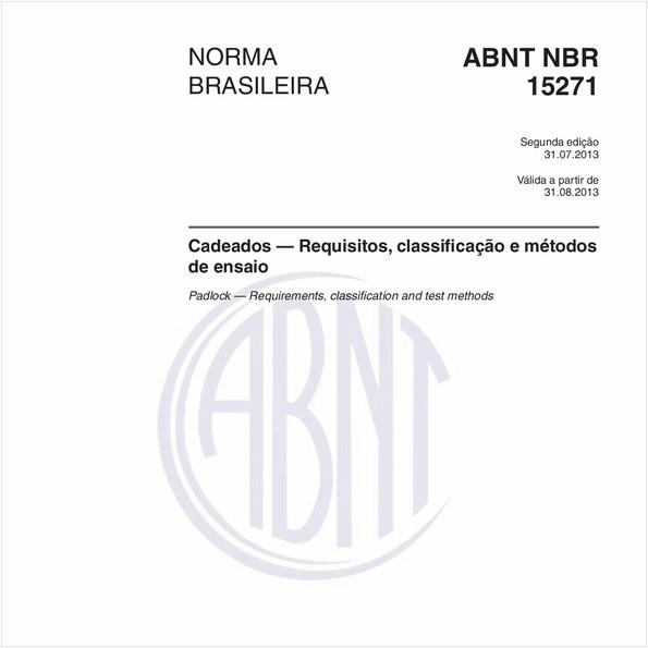 NBR15271 de 07/2013