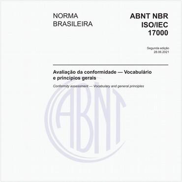 NBRISO/IEC17000 de 09/2005
