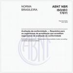 NBRISO/IEC17011