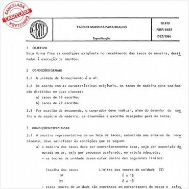NBR6451 de 12/1984