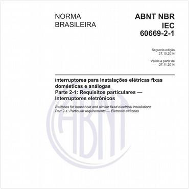 NBRIEC60669-2-1 de 10/2014