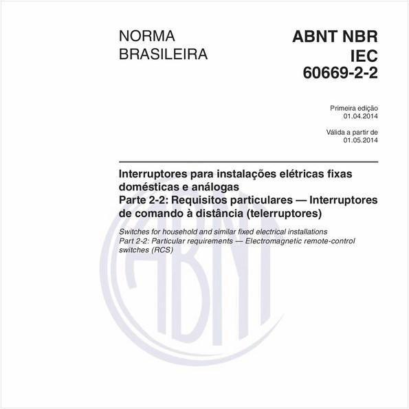 NBRIEC60669-2-2 de 04/2014