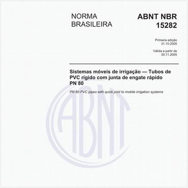 NBR15282 de 10/2005