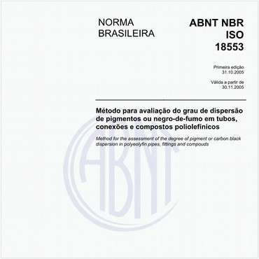 NBRISO18553 de 10/2005
