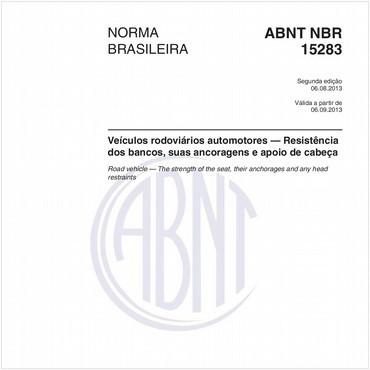 NBR15283 de 08/2013