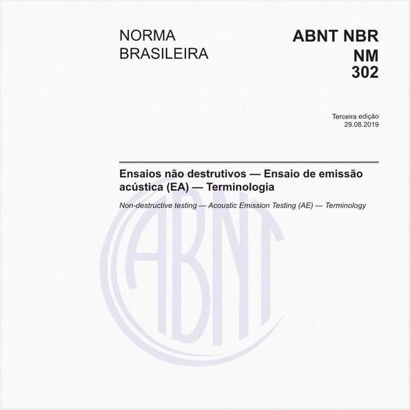 Ensaios não destrutivos — Ensaio de emissão acústica (EA) — Terminologia