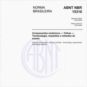 NBR15310 de 02/2009