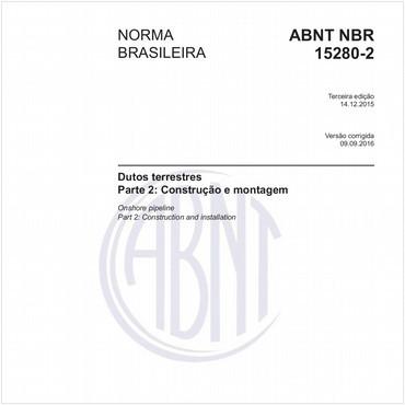 NBR15280-2 de 12/2015
