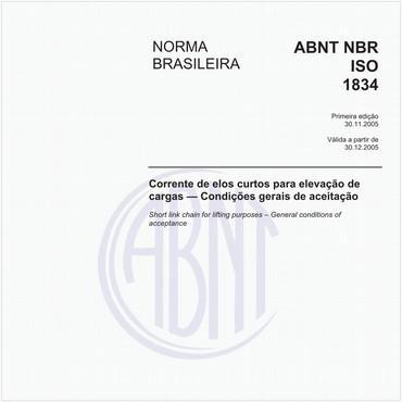 NBRISO1834 de 11/2005