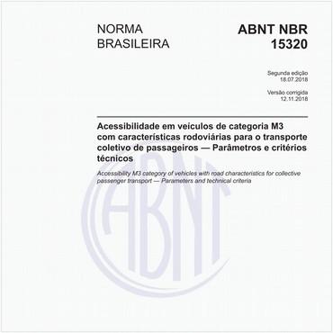 NBR15320 de 07/2018