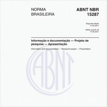 NBR15287 de 03/2011