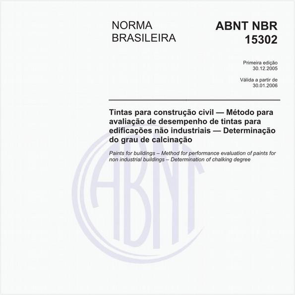 NBR15302 de 12/2005
