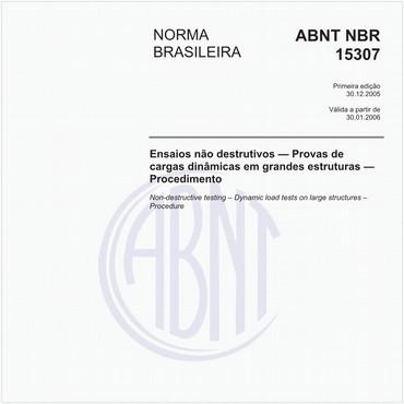 NBR15307 de 12/2005