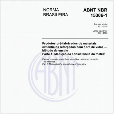 NBR15306-1 de 12/2005