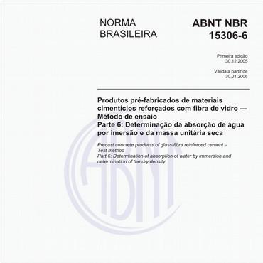 NBR15306-6 de 12/2005