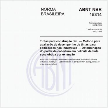NBR15314 de 12/2005