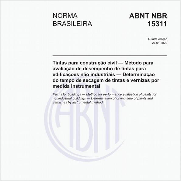 NBR15311 de 05/2016