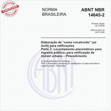 NBR14645-2 de 12/2005