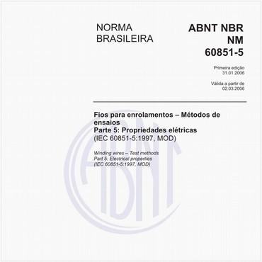 NBRNM60851-5 de 01/2006