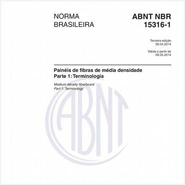 NBR15316-1 de 04/2014