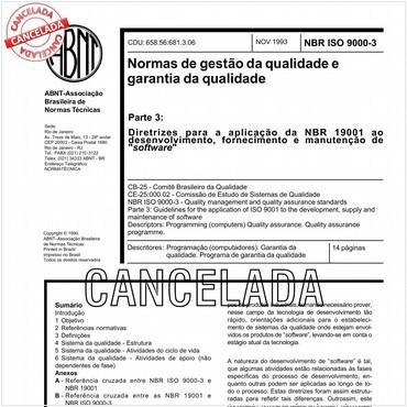 NBRISO9000-3 de 11/1993