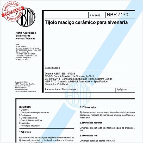 NBR7170 de 11/2017