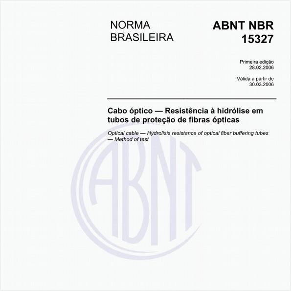NBR15327 de 02/2006