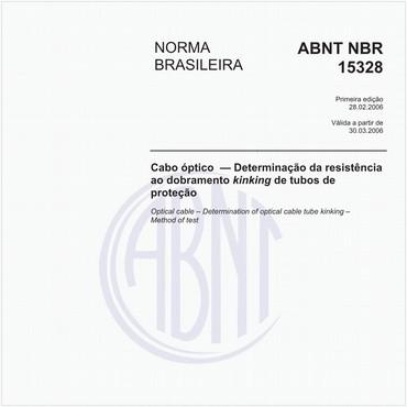 NBR15328 de 02/2006